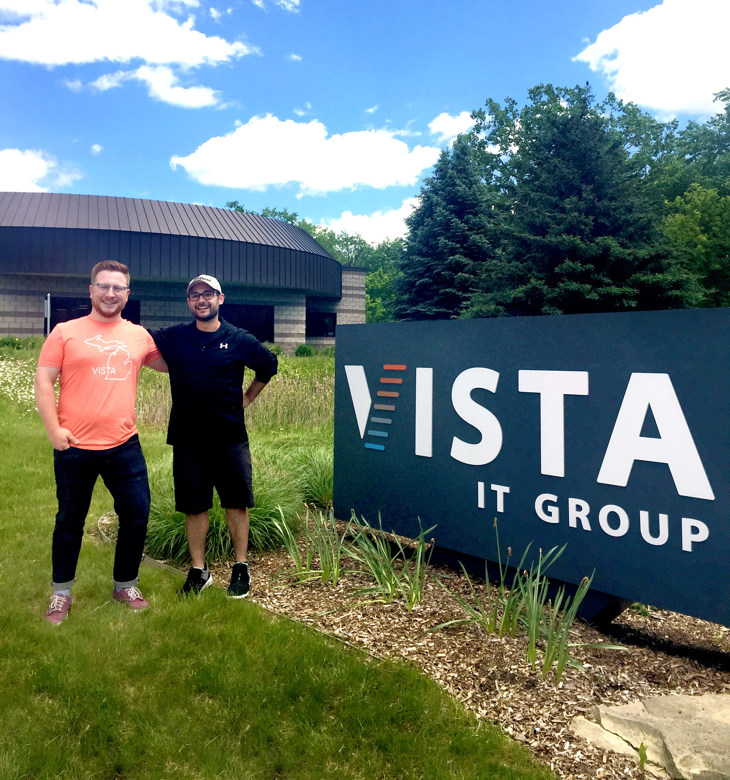 Vista New Hires - Dom and Jake