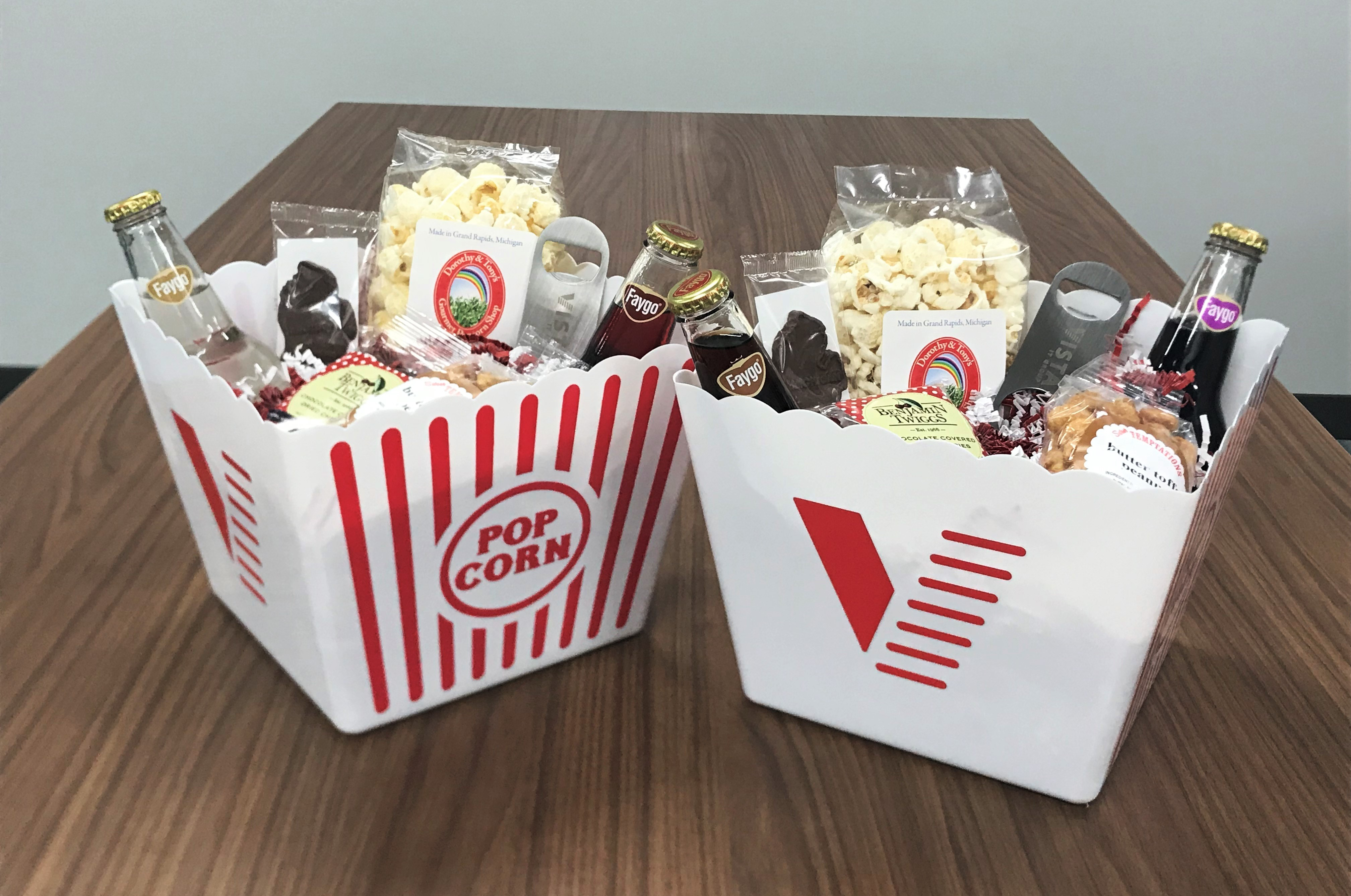 Holiday PopCorn Box