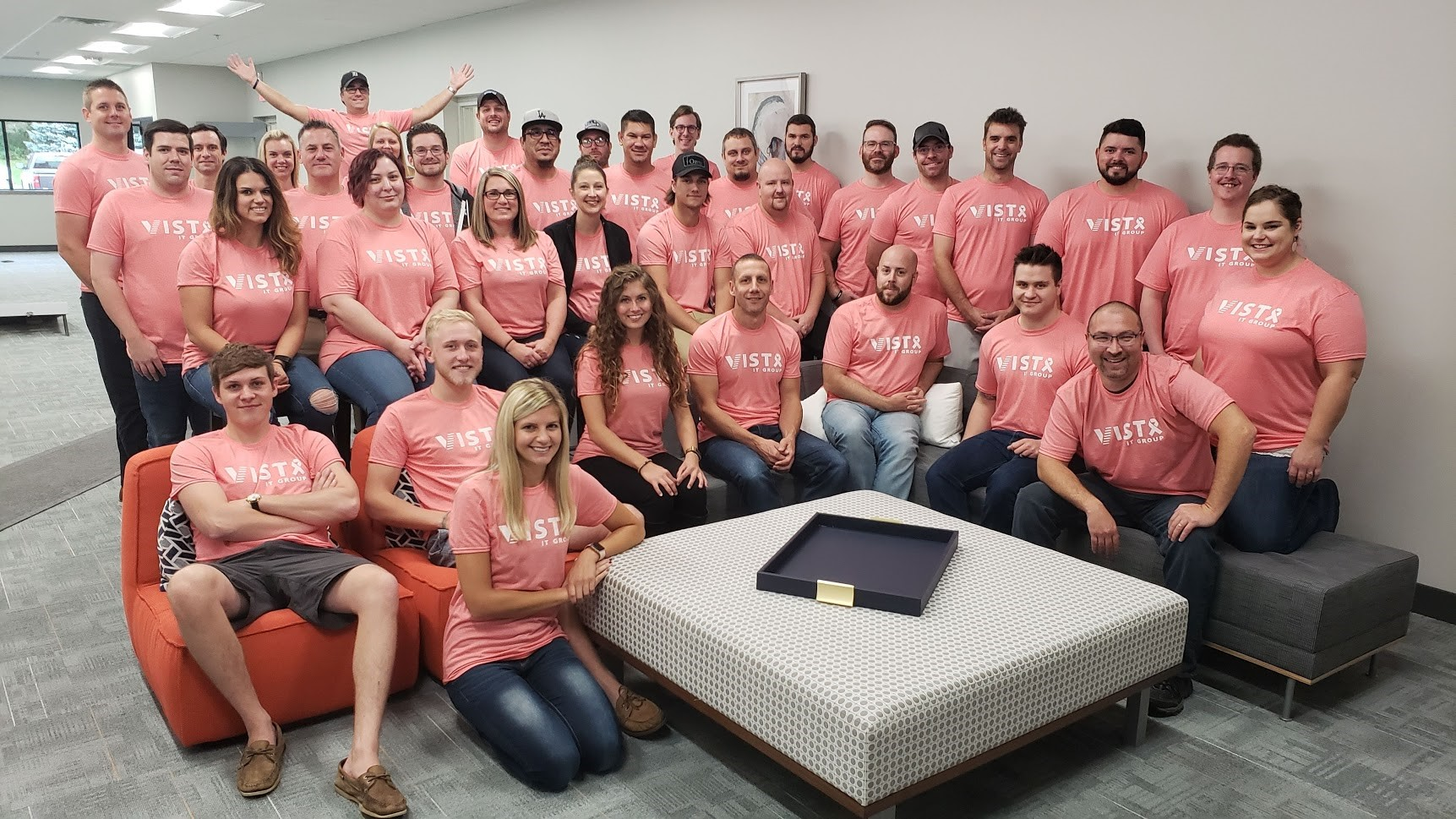 Vista IT Group Breast Cancer